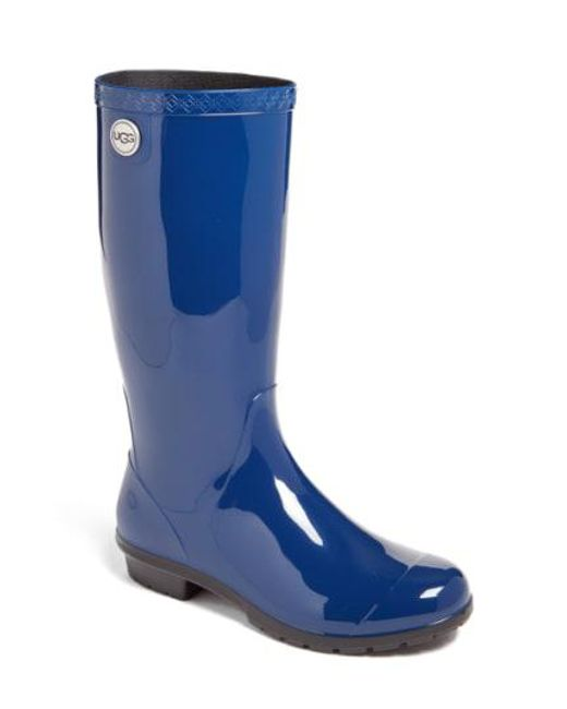 Ugg - Blue Shaye Rubber Rainboots - Lyst