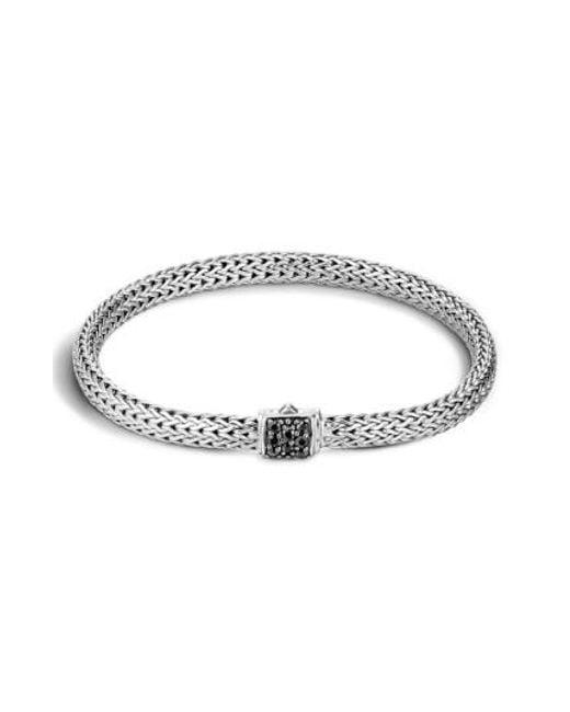 John Hardy | Metallic 'classic Chain' Extra Small Bracelet | Lyst