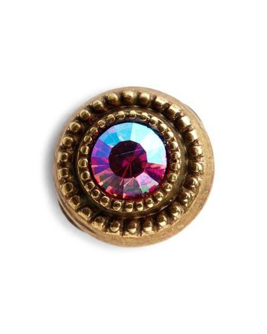 Sorrelli - Pink Macrame Crystal Earrings - Lyst