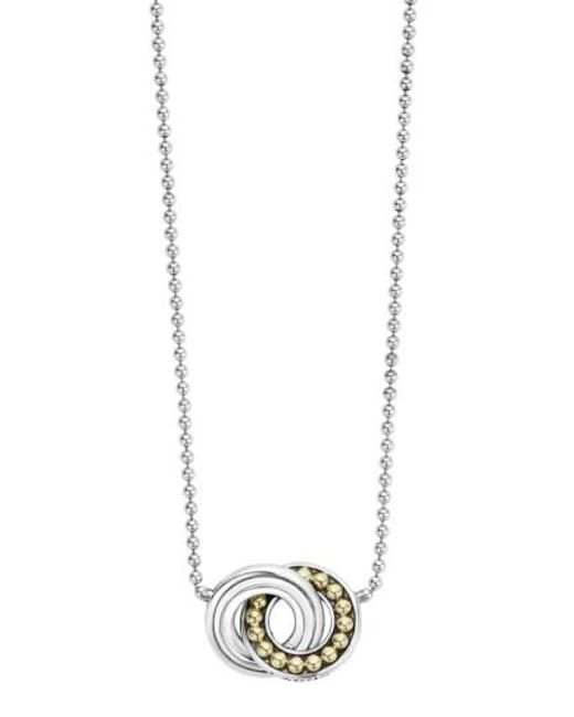 Lagos | Metallic Enso Pendant Necklace | Lyst