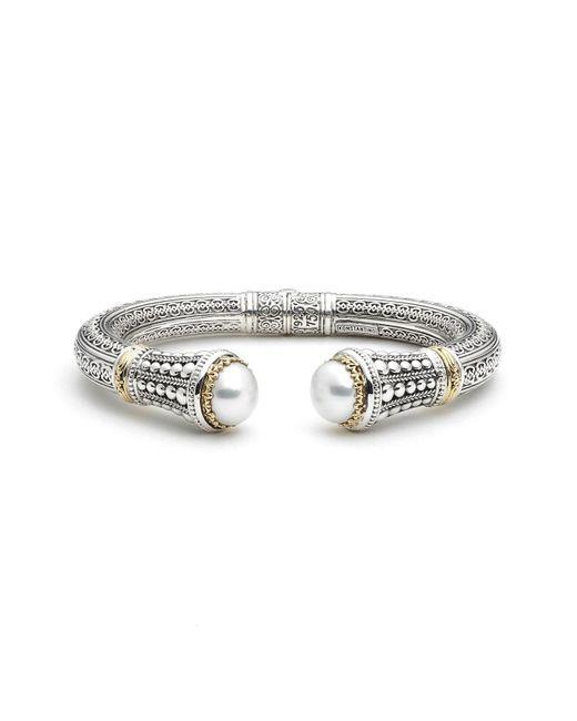 Konstantino - Metallic 'pearl Classics' Cuff - Lyst