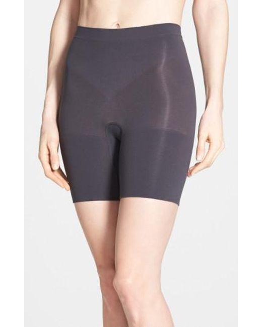 Spanx | Black Spanx Power Short Mid Thigh Shaper | Lyst