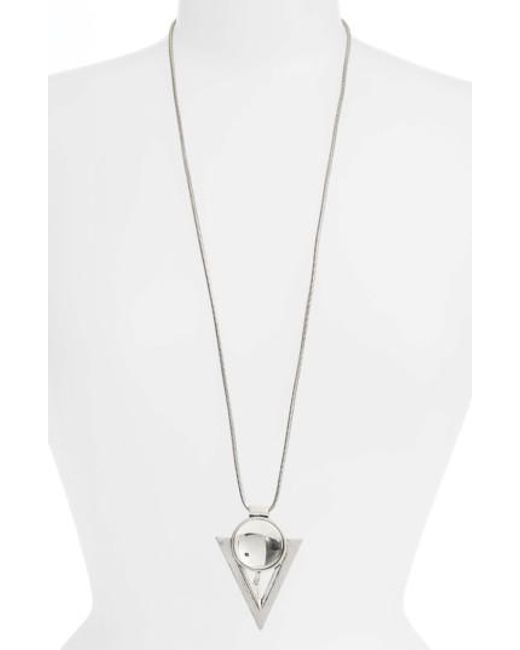 Jenny Bird | Metallic Bowie Pendant Necklace | Lyst