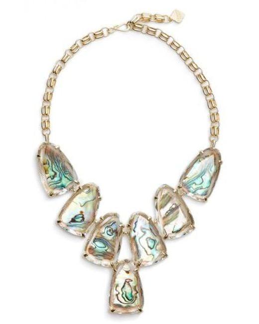 Kendra Scott | Metallic Harlow Necklace | Lyst
