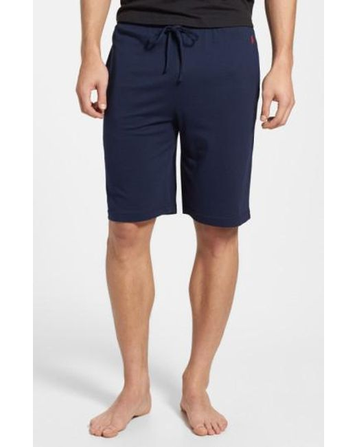 Polo Ralph Lauren | Blue Sleep Shorts for Men | Lyst