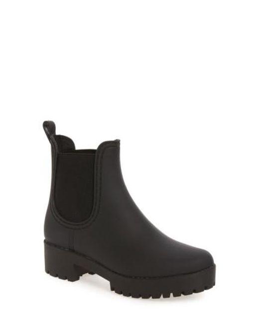 Jeffrey Campbell - Black Cloudy Chelsea Rain Boot - Lyst