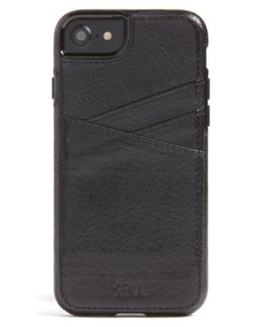 Sena | Black Lugano Iphone 7 Wallet Case for Men | Lyst