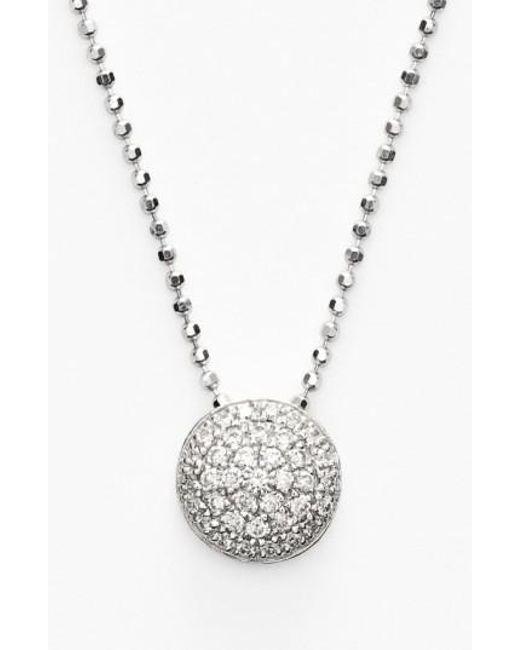 Bony Levy | Metallic 'eclipse' Pave Diamond Pendant Necklace (nordstrom Exclusive) | Lyst