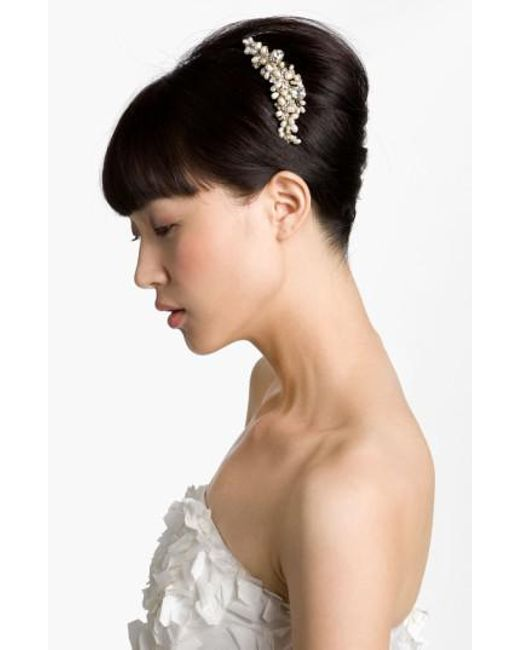 Cara | Metallic 'vintage' Hair Comb | Lyst