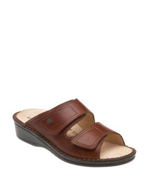 Finn Comfort - Brown 'jamaica' Sandal - Lyst