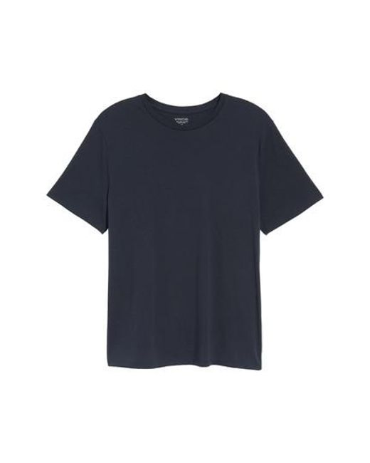Vince - Blue Crewneck T-shirt for Men - Lyst