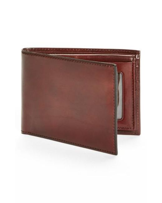 Bosca - Brown Id Passcase Wallet for Men - Lyst