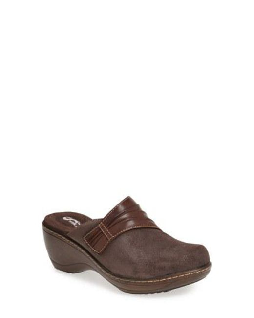 Softwalk® - Brown Softwalk 'mason' Clog - Lyst