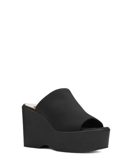 Nine West - Black Tomo Platform Sandal - Lyst