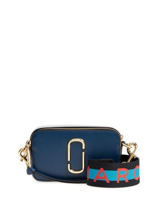 Marc Jacobs - Gray Snapshot Crossbody Bag - Lyst