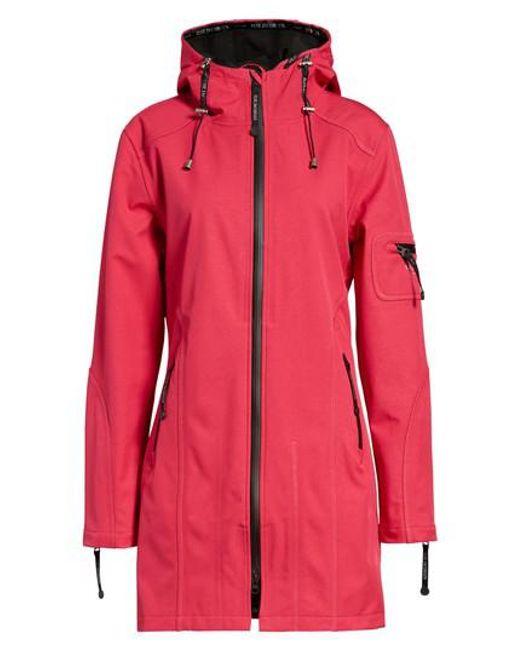 Ilse Jacobsen - Black Rain 7 Hooded Water Resistant Coat - Lyst