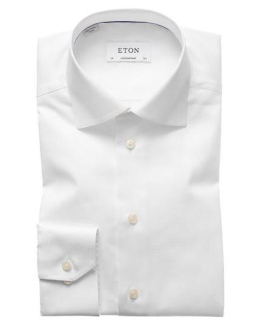 Eton of Sweden   White Contemporary Fit Solid Dress Shirt for Men   Lyst