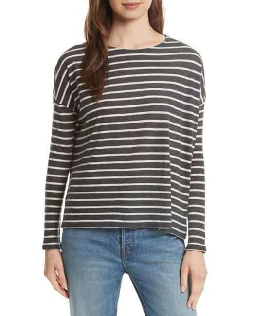 Lyst Majestic Filatures Stripe Cotton Cashmere