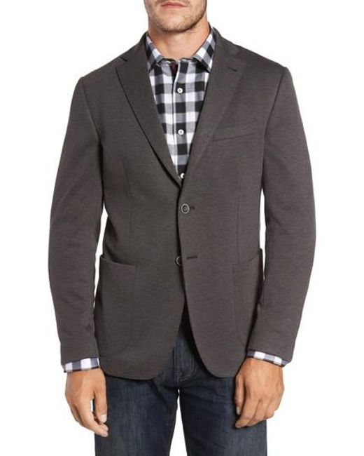 Bugatchi | Gray Regular Fit Blazer for Men | Lyst