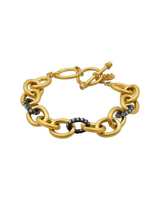 Freida Rothman - Metallic Signature Heavy Link Bracelet - Lyst