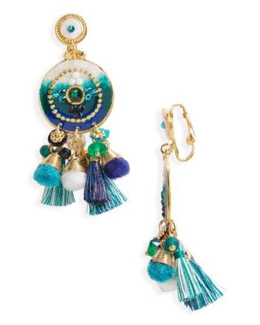 Gas Bijoux | Multicolor Stella Clip Earrings | Lyst