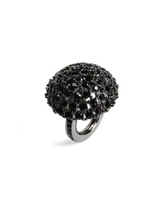 Oscar de la Renta | Black Dome Ring | Lyst