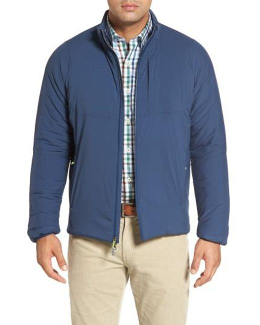Peter Millar | Blue Bozeman Stretch Puffer Jacket for Men | Lyst