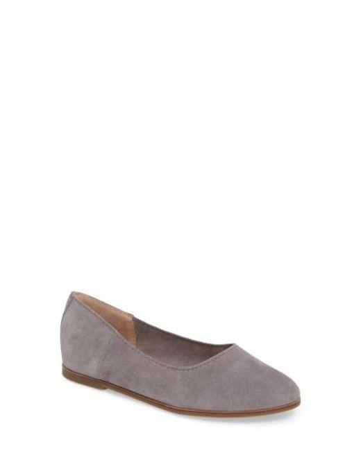 Lucky Brand | Gray Calandra Flat | Lyst