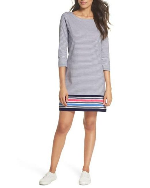 Lilly Pulitzer - Blue Lilly Pulitzer Noelle Stripe Shift Dress - Lyst