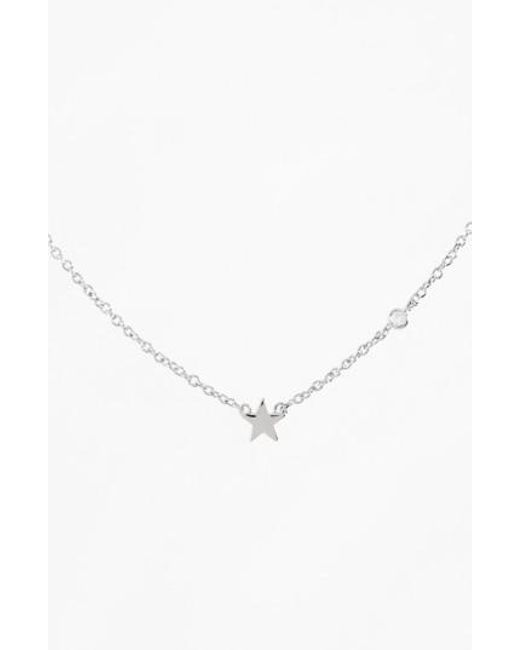 Shy By Sydney Evan | Metallic Star Necklace | Lyst