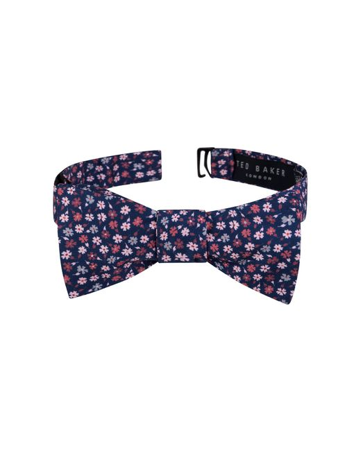 Ted Baker - Blue Ditsy Flower Silk Bow Tie for Men - Lyst