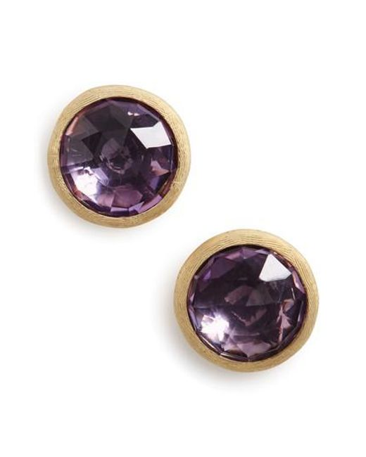 Marco Bicego | Metallic 'jaipur' Stone Stud Earrings | Lyst