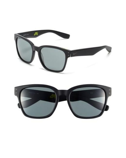 Nike | Black Volano 55mm Sunglasses | Lyst