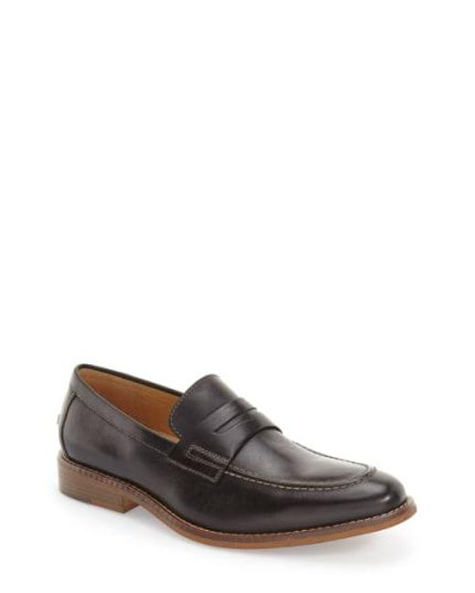 G.H.BASS - Brown 'conner' Penny Loafer for Men - Lyst