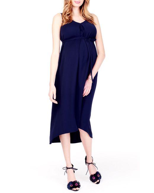 Ingrid & Isabel - Blue Ingrid & Isabel High/low Maternity Dress - Lyst