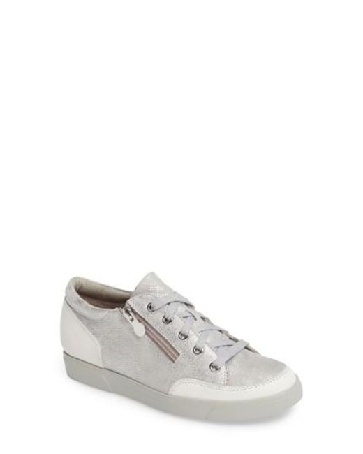 Munro Gabbie Sneaker Lyst in Blanco Lyst Sneaker 6ec81c