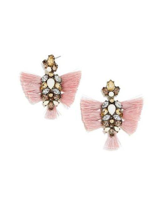 BaubleBar | Pink Rapunzel Earrings | Lyst