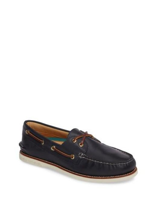 Sperry Top-Sider | Blue 'gold Cup - Authentic Original' Boat Shoe for Men | Lyst