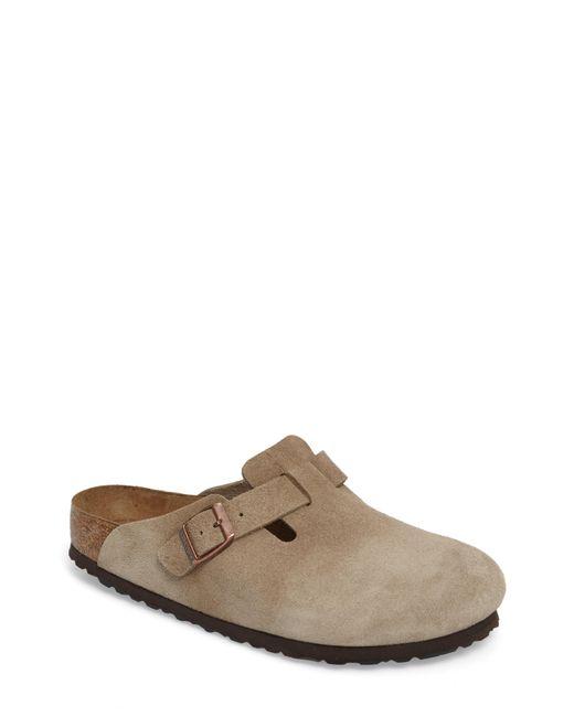 Birkenstock - Brown 'boston Soft' Clog for Men - Lyst