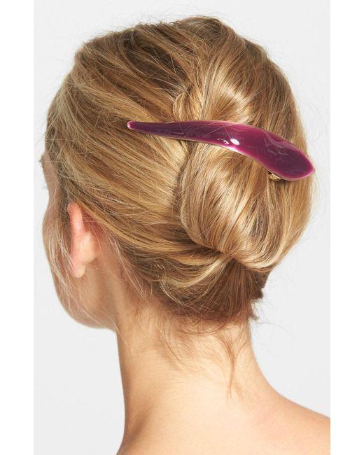 Ficcare - Black Maximus Silky Hair Clip - Lyst