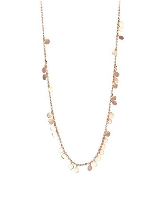 Kismet by Milka - Metallic Dangling Circles Pendant Necklace - Lyst