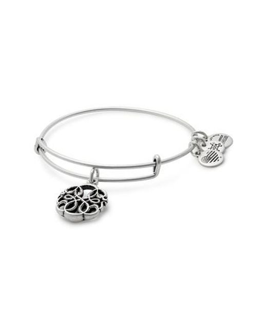 ALEX AND ANI | Metallic Path Of Life Adjustable Wire Bangle | Lyst