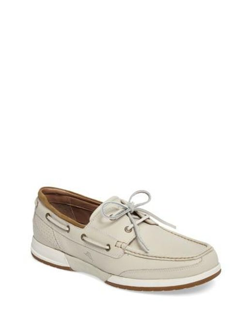 Tommy Bahama | White Ashore Thing Boat Shoe for Men | Lyst