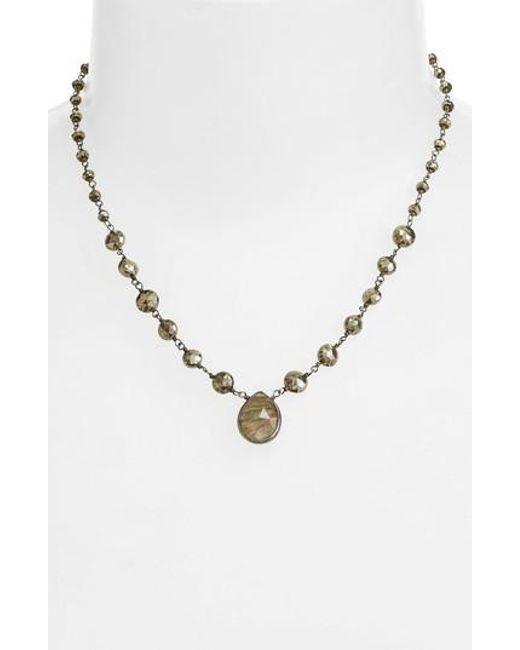 Ela Rae | Metallic Ara Collar Necklace | Lyst