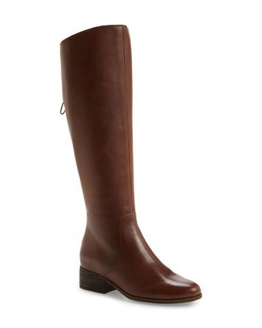 Lucky Brand | Brown Lanesha Over The Knee Boot | Lyst