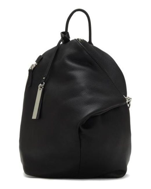 Vince Camuto | Black Small Giani Leather Backpack | Lyst