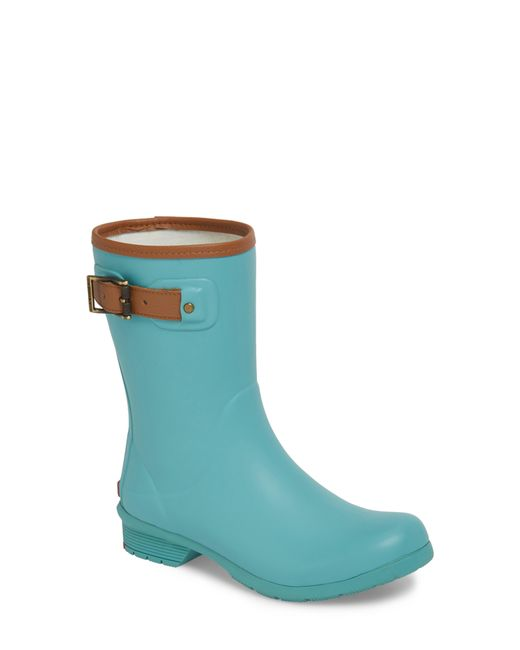 Chooka - Blue City Solid Mid Height Waterproof Rain Boot - Lyst