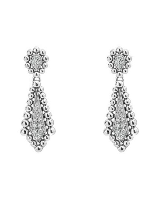 Lagos | Metallic Caviar Spark Diamond Earrings | Lyst