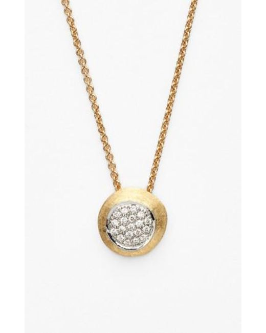 Marco Bicego | Yellow 'delicati - Jaipur' Diamond Pendant Necklace | Lyst