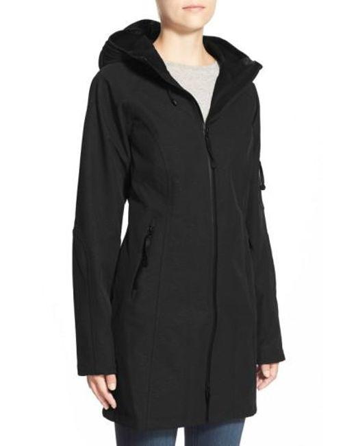 Ilse Jacobsen   Black Regular Fit Hooded Raincoat   Lyst